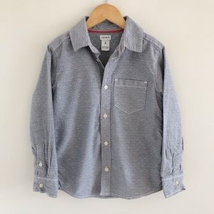 Carter's 100% Cotton Button-Down Shirt 6